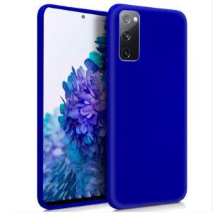 Funda Silicona Samsung G780 Galaxy S20 FE (Azul)