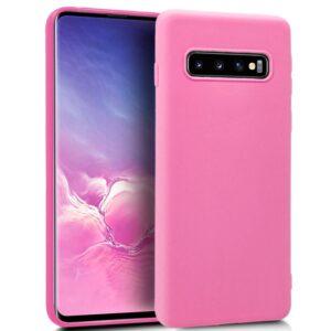 Funda Silicona Samsung G973 Galaxy S10 (Rosa)