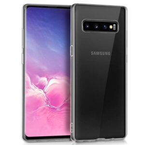 Funda Silicona Samsung G973 Galaxy S10 (Transparente)
