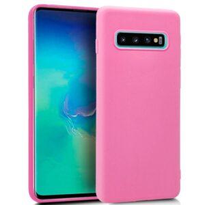 Funda Silicona Samsung G975 Galaxy S10 Plus (Rosa)