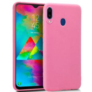 Funda Silicona Samsung M205 Galaxy M20 (Rosa)