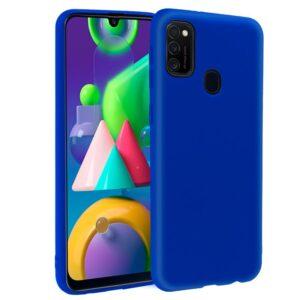 Funda Silicona Samsung M215 Galaxy M21 (Azul)