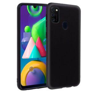Funda Silicona Samsung M215 Galaxy M21 (Negro)