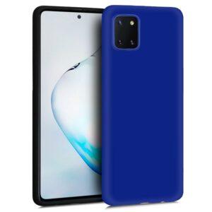Funda Silicona Samsung N770 Galaxy Note 10 Lite (Azul)
