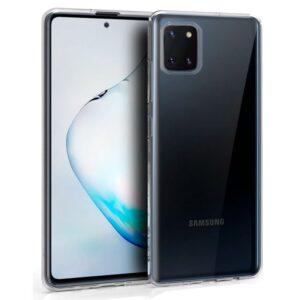 Funda Silicona Samsung N770 Galaxy Note 10 Lite (Transparente)