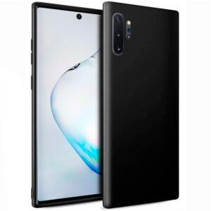 Funda Silicona Samsung N975 Galaxy Note 10 Plus (Negro)