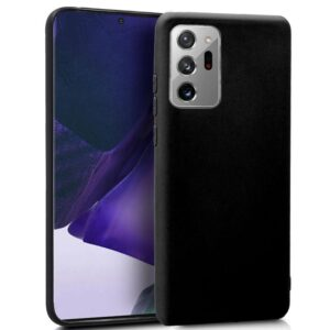 Funda Silicona Samsung N985 Galaxy Note 20 Ultra (Negro)