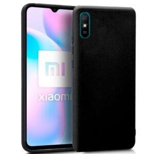 Funda Silicona Xiaomi Redmi 9A / 9AT (Negro)