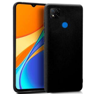 Funda Silicona Xiaomi Redmi 9C (Negro)
