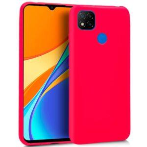 Funda Silicona Xiaomi Redmi 9C (Rosa)