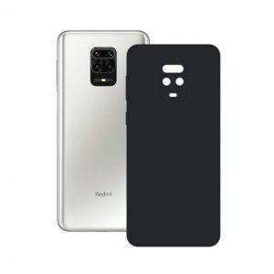 Funda Silicona Xiaomi Redmi Note 9S / Note 9 Pro (Negro)