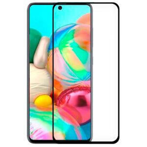 Protector Pantalla Cristal Templado Samsung A715 Galaxy A71 / S10 Lite / Note 10 Lite (FULL 3D Negro)