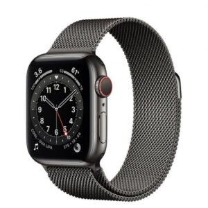 Apple Watch 6 GPS + Cellular 40mm Acero Grafito/Correa milanese loop Grafito