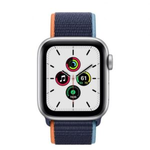 Apple Watch SE GPS + Cellular 40 mm aluminio Plata/correa Loop Azul Marino Prof