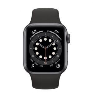 Apple Watch 6 GPS + Cellular 40mm Aluminio Gris Espacial – Correa deportiva Negra