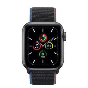 Apple Watch SE GPS + Cellular 40 mm aluminio Gris Espacial /correa dep Loop Carbón