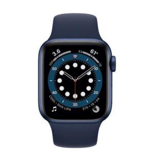 Apple Watch 6 GPS + Cellular 40mm Aluminio Azul – Correa deportiva Azul Marino Intenso