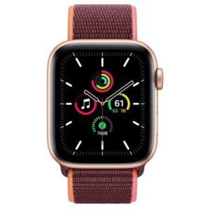 Apple Watch SE GPS + Cellular 44 mm aluminio Oro/correa dep Loop Ciruela