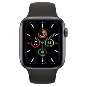 Apple Watch SE GPS + Cellular 44 mm aluminio Gris Espacial/correa deportiva Negra