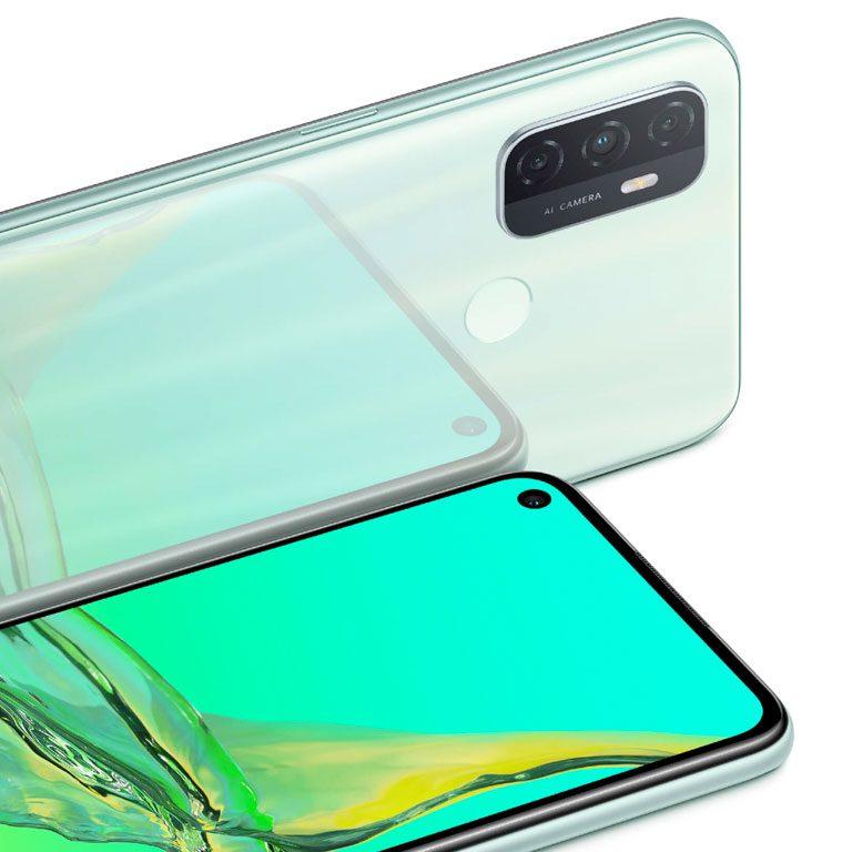 Comprar móvil Oppo A53 verde barato