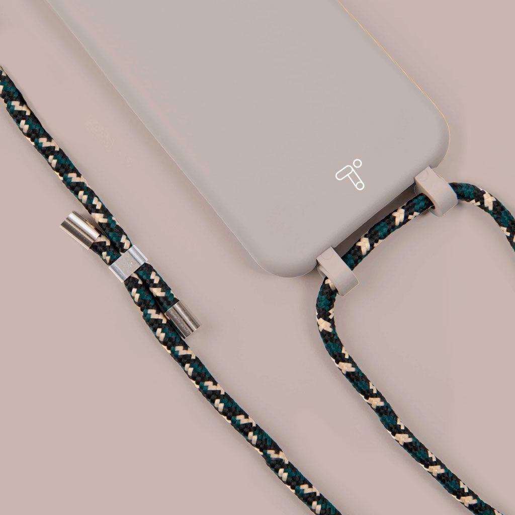 Fundas silicona iPhone 12 veige