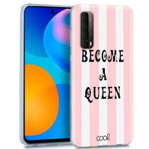 Carcasa Huawei P Smart 2021 Dibujos Queen