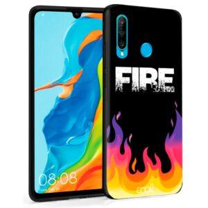 Carcasa Huawei P30 Lite Dibujos Fire