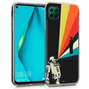 Carcasa Para Huawei P40 Lite Licencia Star Wars R2D2