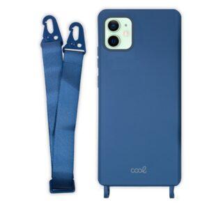 Carcasa IPhone 12 / 12 Pro Cinta Azul