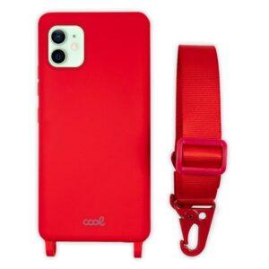 Carcasa IPhone 12 / 12 Pro Cinta Rojo