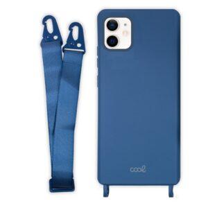 Carcasa IPhone 12 Mini Cinta Azul