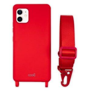 Carcasa IPhone 12 Mini Cinta Rojo