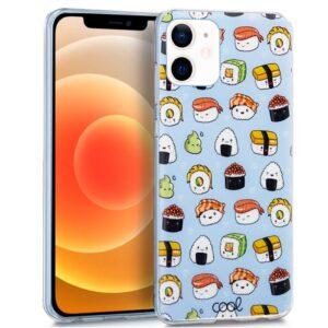 Carcasa Para IPhone 12 Mini Dibujos Sushi