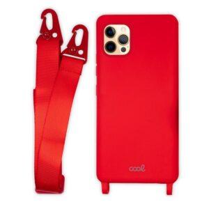 Carcasa IPhone 12 Pro Max Cinta Rojo