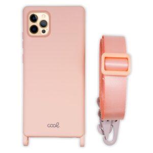 Carcasa IPhone 12 Pro Max Cinta Rosa