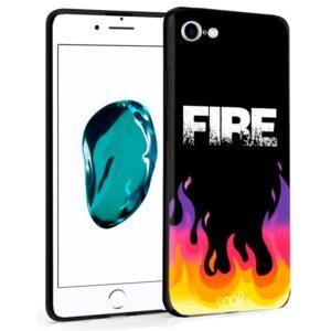 Carcasa Para IPhone 7 / 8 / SE (2020) Dibujos Fire