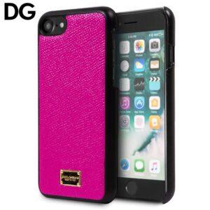 Carcasa para iPhone 7 / 8 / SE (2020) Licencia Dolce Gabbana Liso Rosa