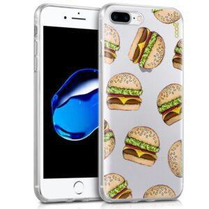 Carcasa Para IPhone 7 Plus / IPhone 8 Plus Clear Burger