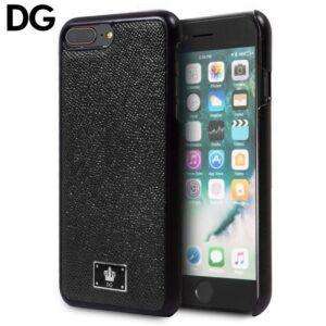 Carcasa Para IPhone 7 Plus / IPhone 8 Plus Licencia Dolce Gabbana Liso Negro