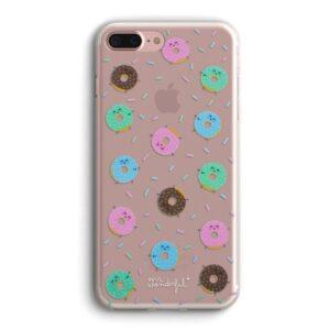 Carcasa Para IPhone 7 Plus / IPhone 8 Plus Licencia Mr Wonderful Donuts