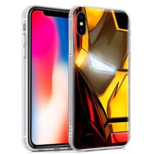 Carcasa Para IPhone X / IPhone XS Licencia Marvel Iron Man