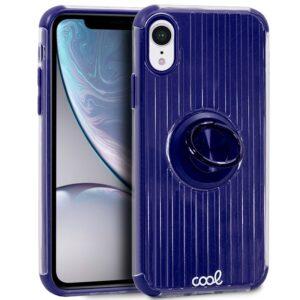 Carcasa Para IPhone XR Hard Anilla Azul