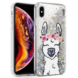 Carcasa Para IPhone XS Max Glitter Llama