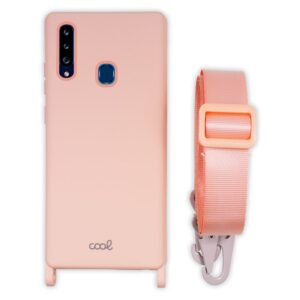 Carcasa Samsung A207 Galaxy A20s Cinta Rosa