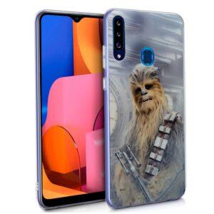 Carcasa Para Samsung Galaxy A20s Licencia Star Wars Chewbacca