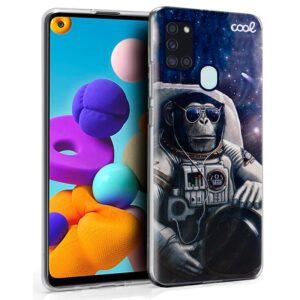 Carcasa Para Samsung Galaxy A21s Dibujos Astronauta