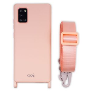 Carcasa Samsung A315 Galaxy A31 Cinta Rosa