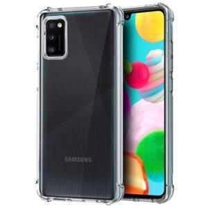 Carcasa COOL Para Samsung A415 Galaxy A41 AntiShock Transparente