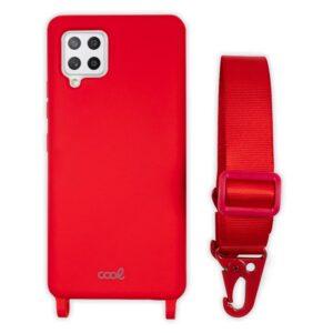Carcasa Samsung A426 Galaxy A42 5G Cinta Rojo