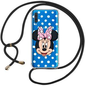 Carcasa Samsung A505 Galaxy A50 / A30s Licencia Disney Minnie Cordón
